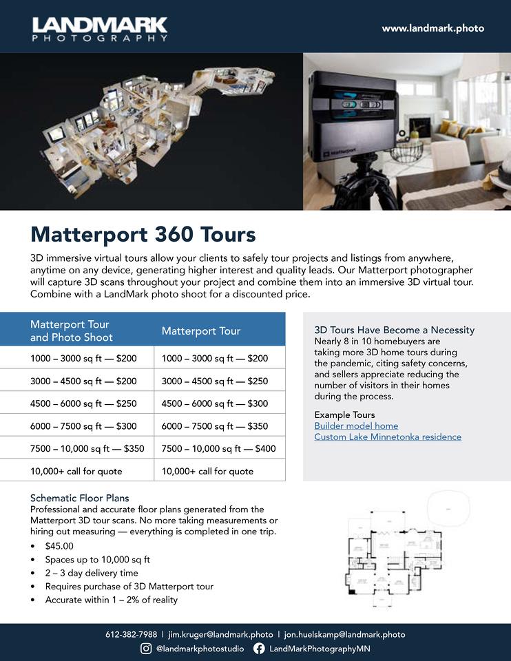 LandMark-Photo-Matterport-Price-Sheet-1