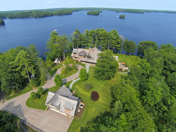 North Woods Lake Home